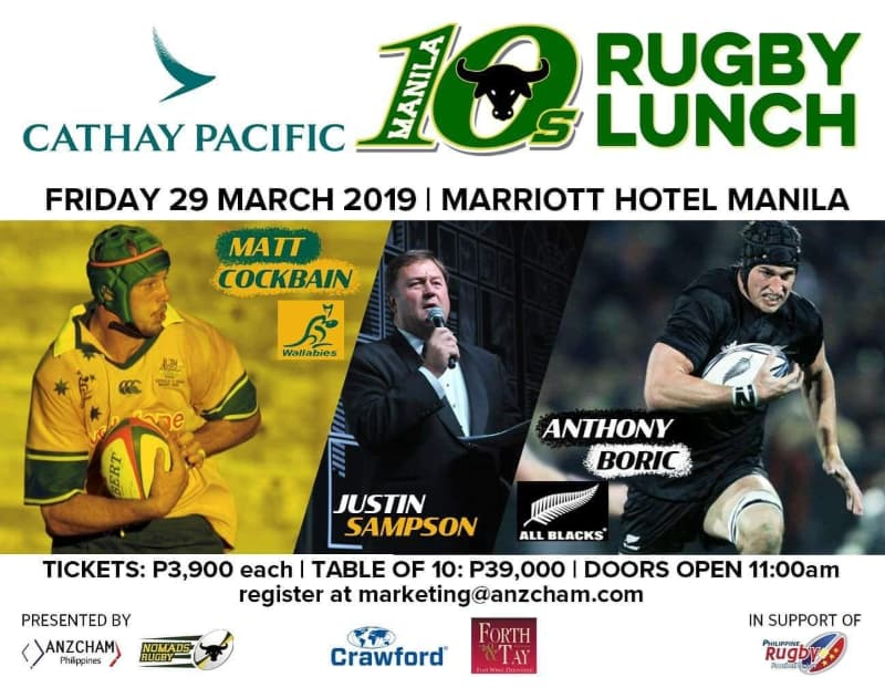 Manila Tens 2019 Rugby Lunch