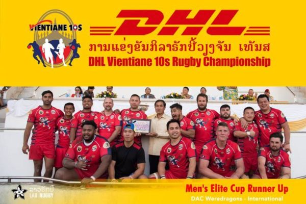 Vientiane International Tens Rugby 2019 winners men