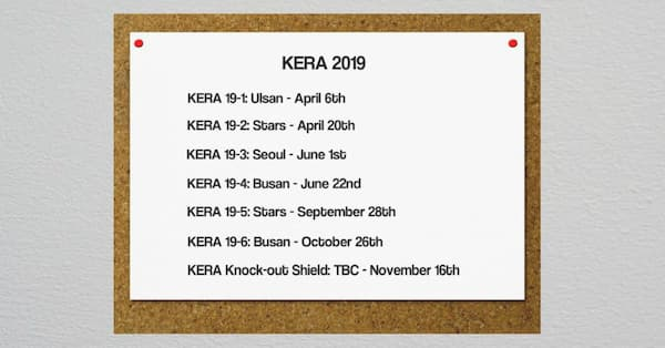 KERA League 2019 rugby Korea