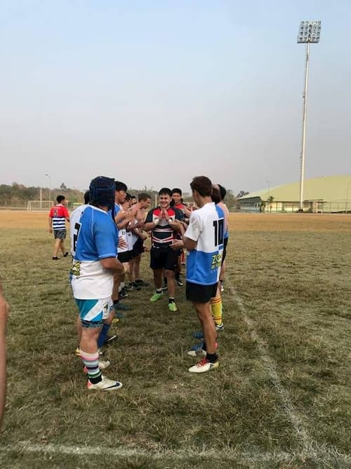 rugby in northern Thailand