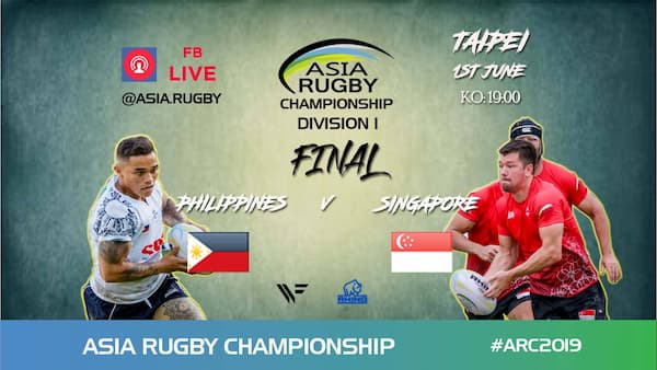 Asia Rugby Championship Division 1 2019 Finals - RugbyAsia247