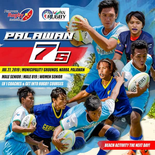 Palawan 7s rugby 2019