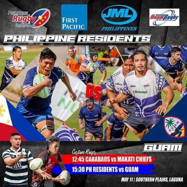Philippines vs Guam rugby international