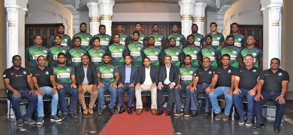 Sri Lanka XVs men's rugby ARC 2019