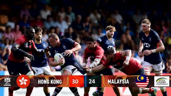 Men's result XVs rugby ARC Hong Kong and Malaysia