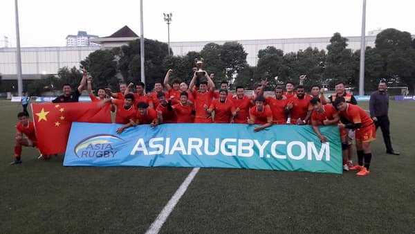 China XVs men win the Asia Rugby Championship Division 3ES 2019