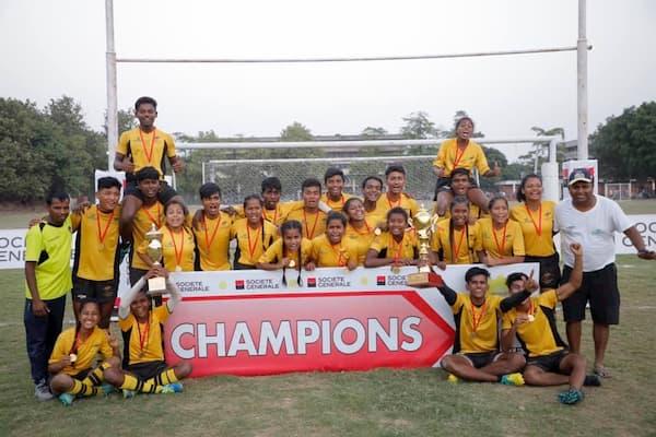 India U18 Junior 7s champions West Bengal 2019