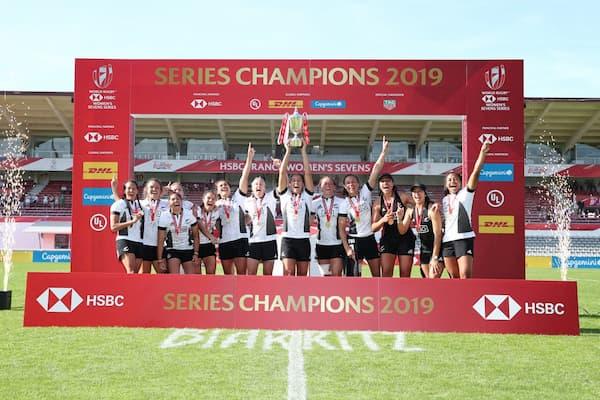 NZ 7s ladies 2019 champions HSBC World Series