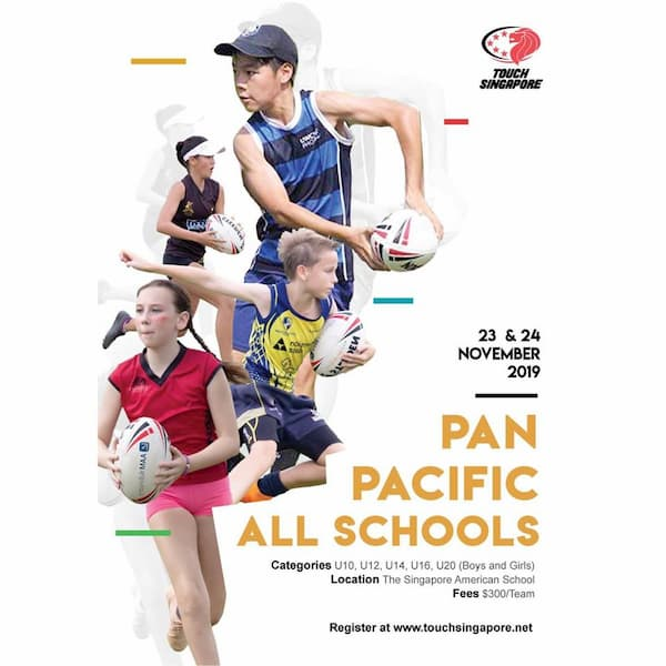Pan Pacific All Schools Touch Tournament 2019