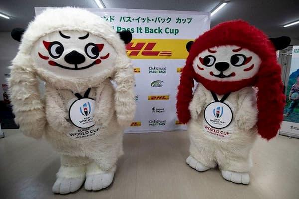2019 RWC mascot Ren-G