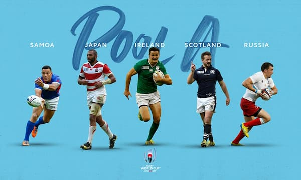 Rugby World Cup Japan Pool A