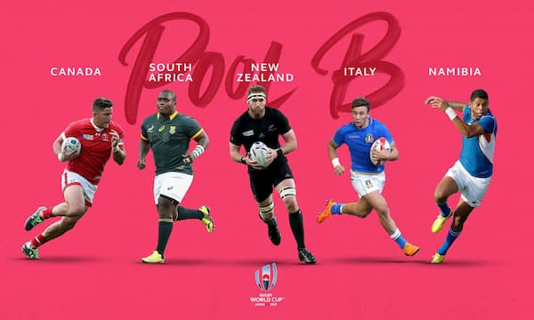 Rugby World Cup Japan Pool B