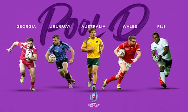 Rugby World Cup Japan Pool D