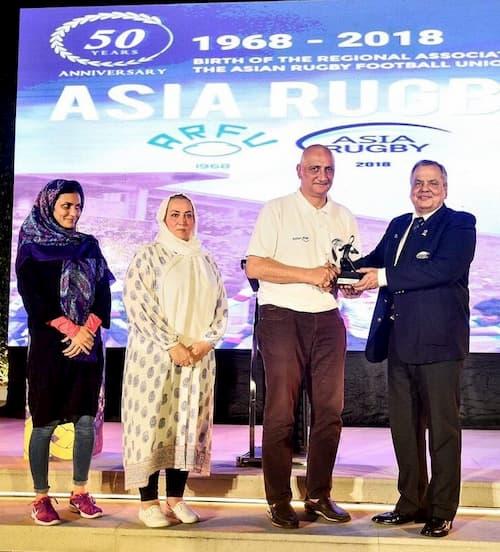 Iran 2018 Asia Rugby - Women's Rugby Development Award