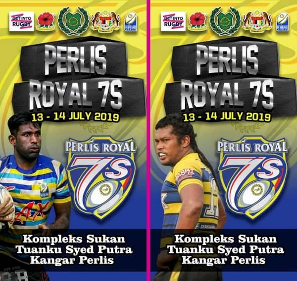 Perlis Royal 7s rugby Malaysia 2019