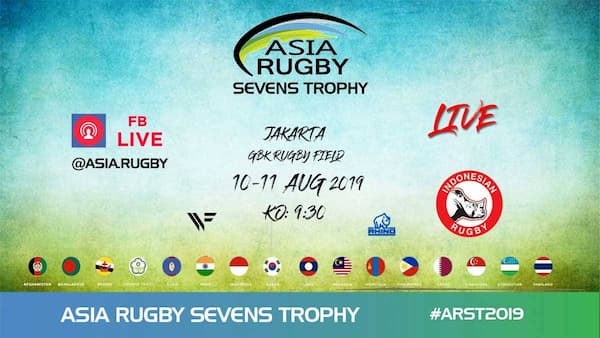 Asia Rugby Trophy 7s Series 2019 streaming
