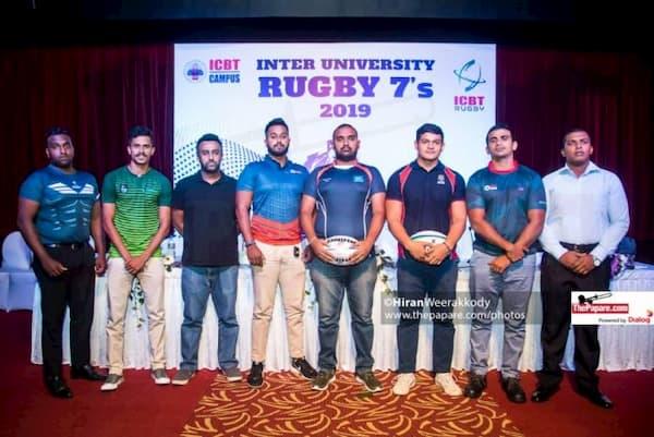ICBT Inter University Rugby 7s Sri Lanka