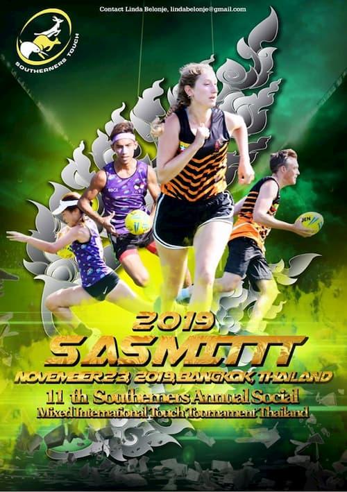 SASMITTT 2019 Thailand Touch Rugby