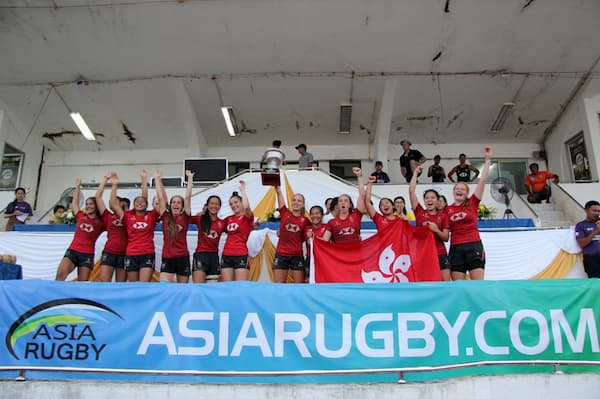 Asia Rugby Under 20 womens 7s 2019 HK
