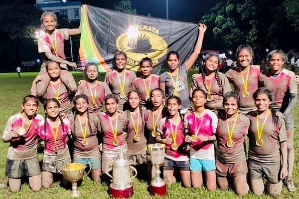 Calcutta Cup 2019 Women's Champions Jungle Crows