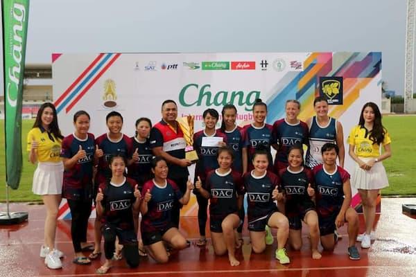 Chang International Rugby sevens Thailand Women's winners