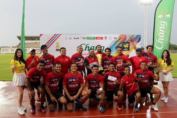 Chang International Rugby sevens Thailand Men's winners