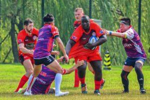Guangzhou Rams RFC Rugby players