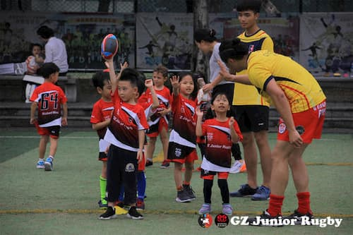 Guangzhou Rams RFC youth rugby