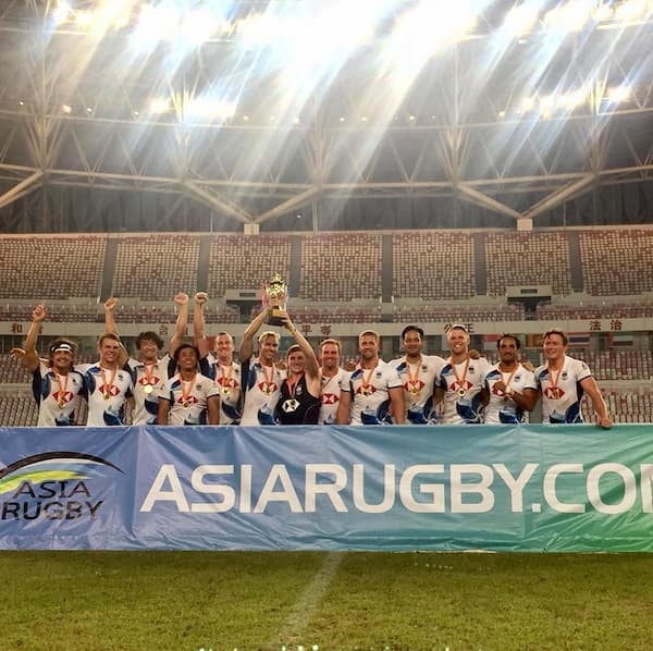 HK men win the Asia Rugby 7s in China