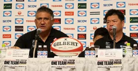 Joseph and Japan rugby team selection 2019