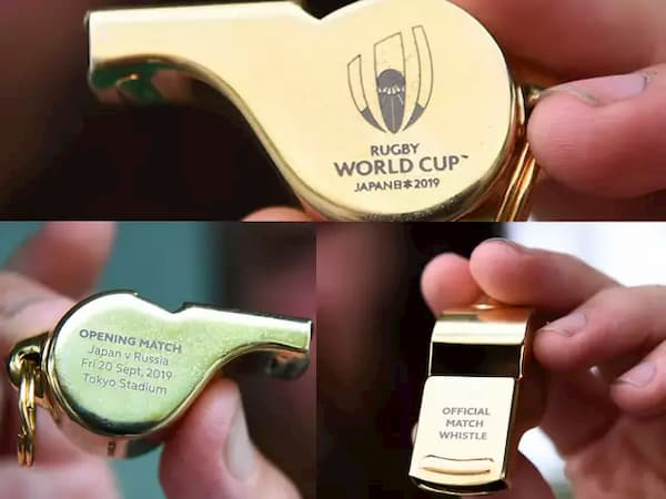 Rugby World Cup 2019 Japan whistle