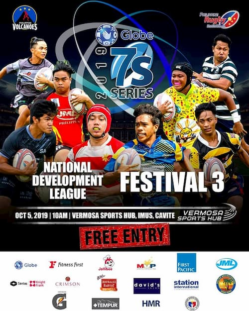 The Globe 7s Rugby National Development Series 2019
