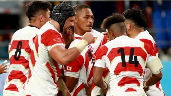 Japan beat Samoa at RWC 2019