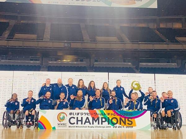 World Rugby Wheelchair Challenge 2019 champions USA