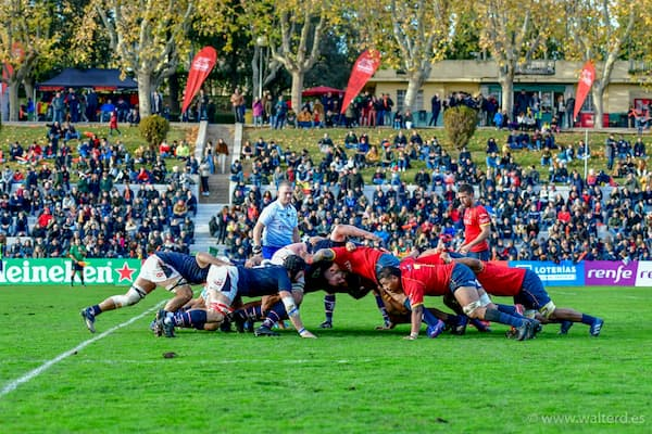 Hong Kong play Spain rugby 2019