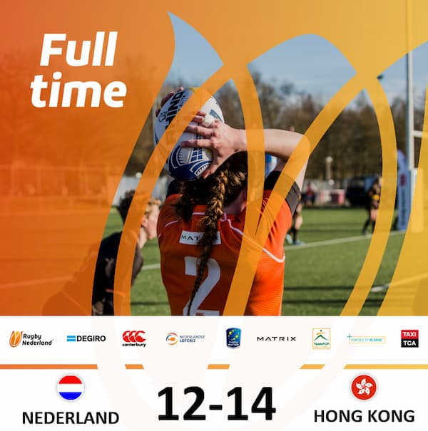 HK Ladies beat Netherlands in 15s rugby
