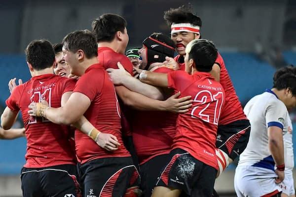 Asia Rugby Under 19 Men's Championship 2019 winners Hong Kong