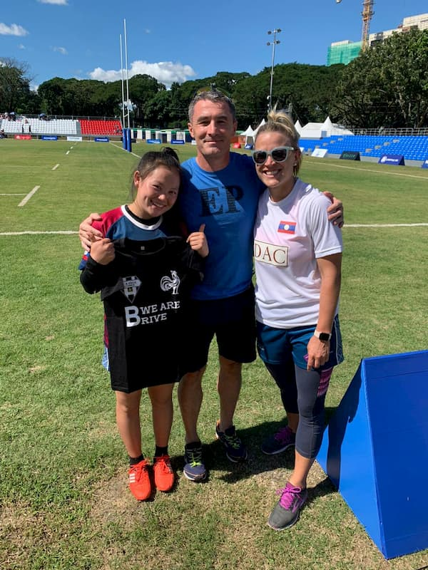Christophe Marchive - CA Bribe rugby ambassador to Asia at the SEA Games