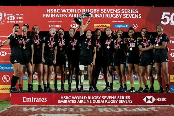 NZ 7s women win in Dubai 2019