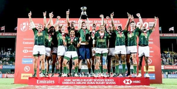 SA rugby 7s men win in Dubai 2019