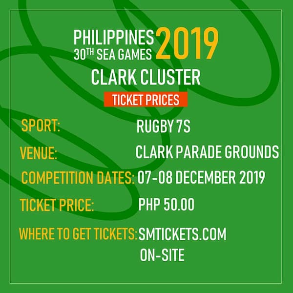 SEA Games 2019 Rugby Sevens