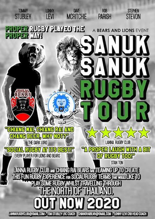 Sanuk Sanuk rugby tour 2020